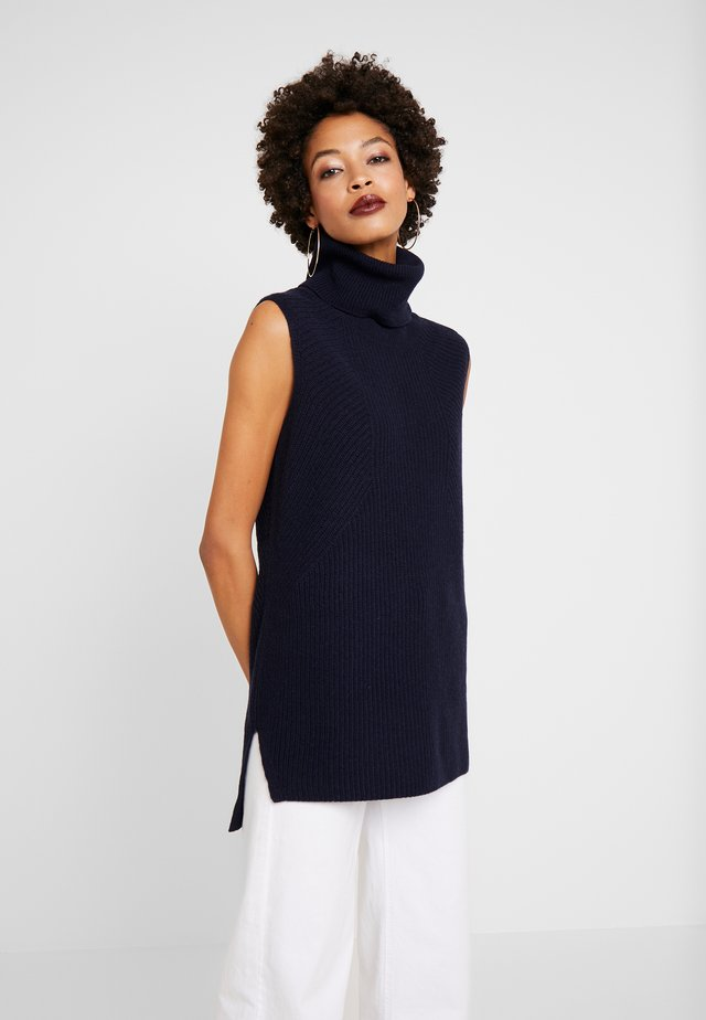 INDOOR  SLEEVELESS - Top - pure navy