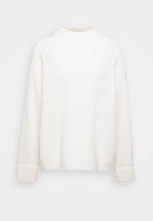 BOXY LONG SLEEVE RAGLAN CROPPED LENGTH - Trui - winter natural white