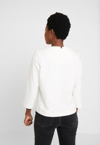 Marc O'Polo PURE - CREW NECK SLEEVE - Langærmede T-shirts - natural white - 2