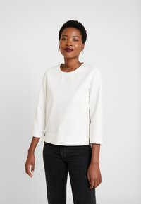 Marc O'Polo PURE - CREW NECK SLEEVE - Langærmede T-shirts - natural white - 0
