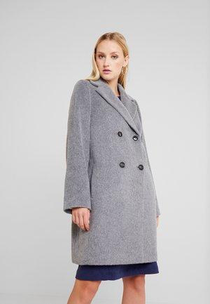COAT SOPHISTICATED FLUFFY - Płaszcz wełniany /Płaszcz klasyczny - cement grey melange