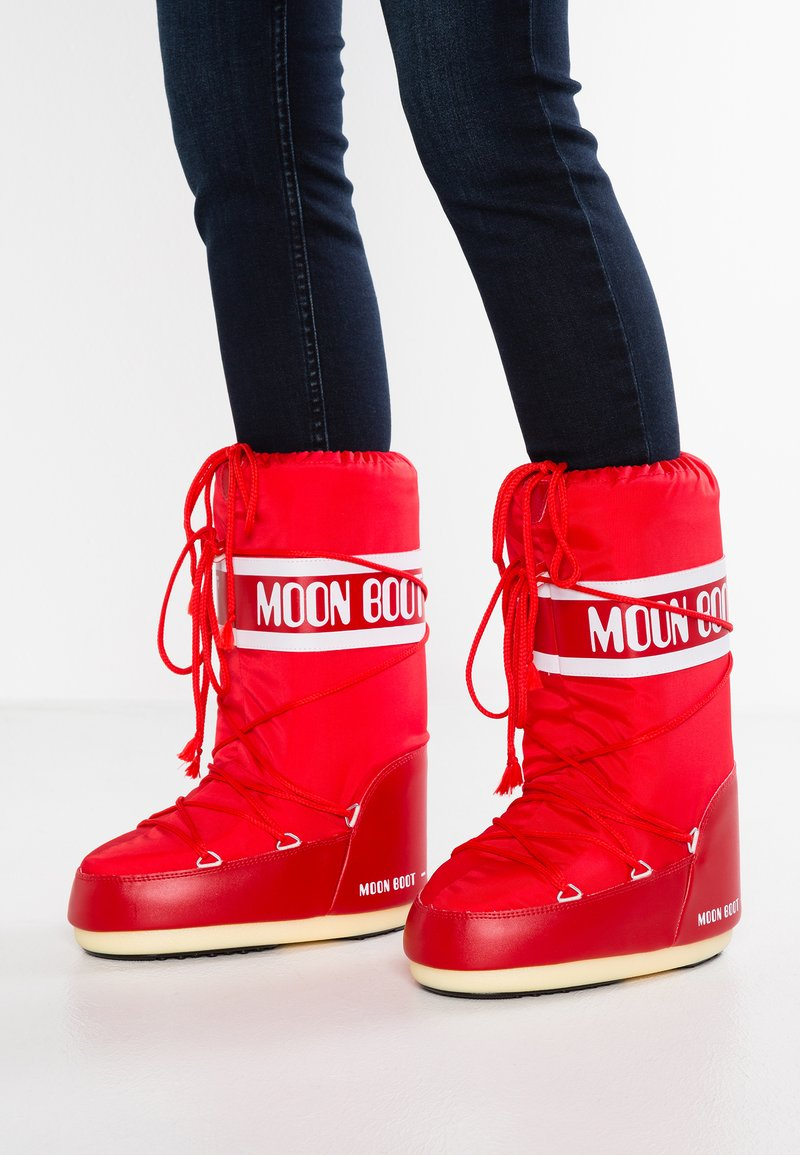 Moon Boot - Talvisaappaat - red