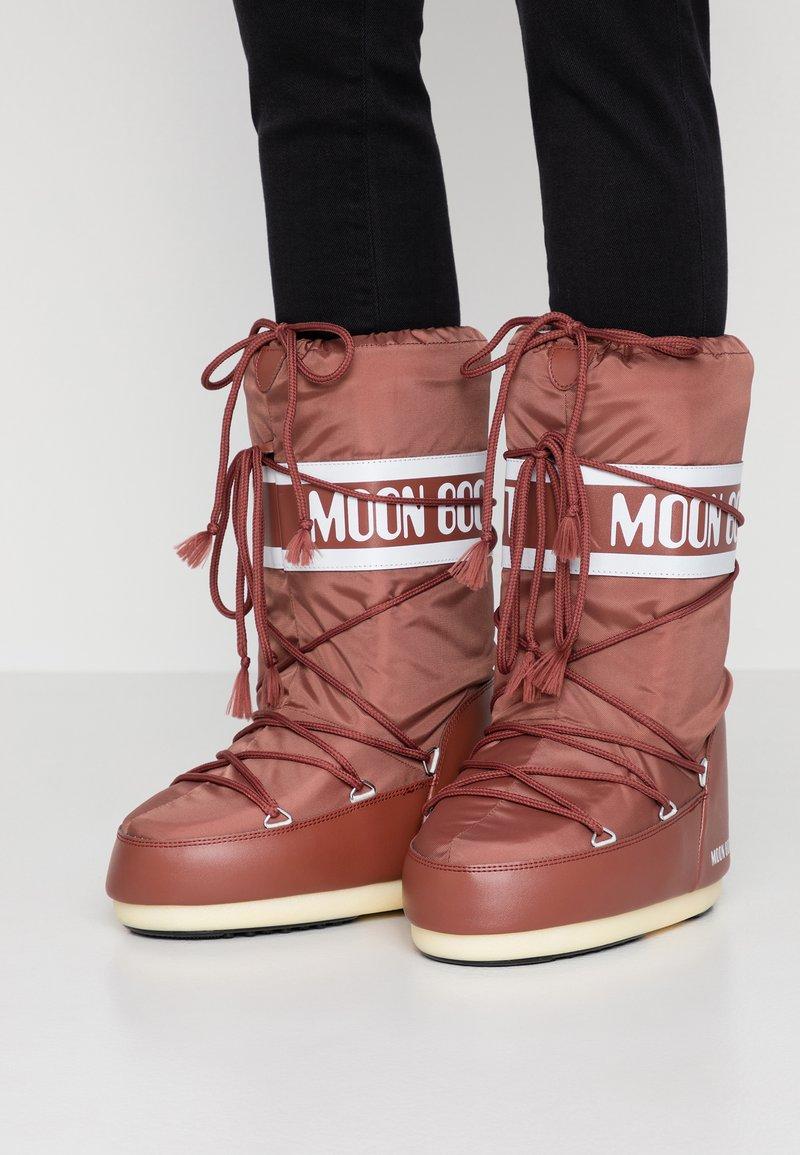 Moon Boot - Vinterstøvler - rust