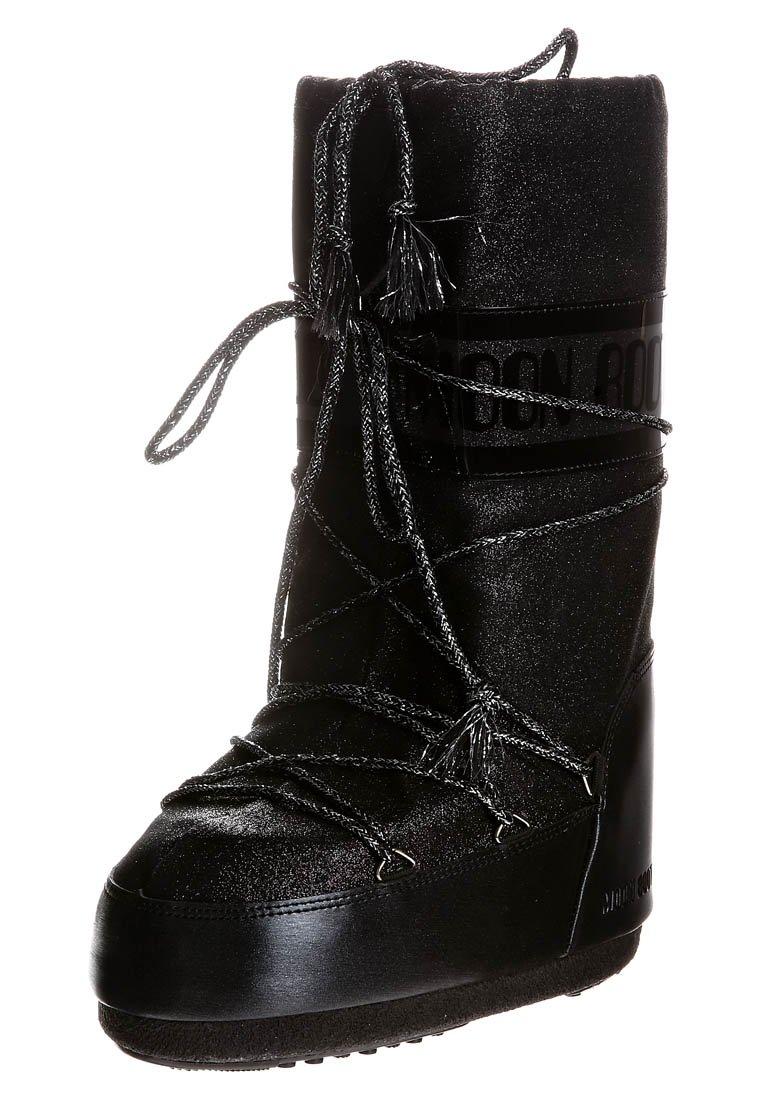 Moon Boot - DELUX - Vinterstøvler - black