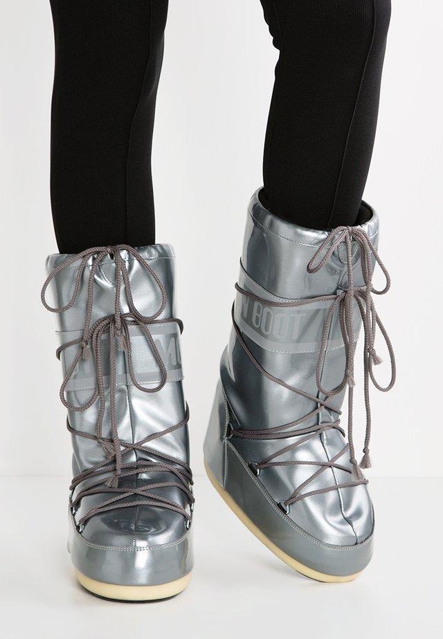 Vinterstøvler - silver
