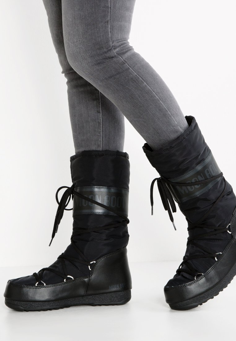 Moon Boot - Vinterstøvler - black