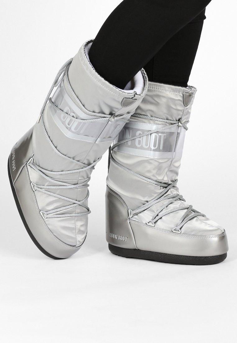 Moon Boot - GLANCE - Vinterstøvler - silver
