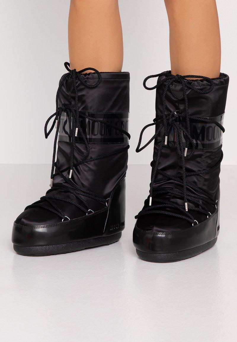 Moon Boot - GLANCE - Zimní obuv - black