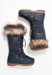Moon Boot - MONACO WP - Vinterstøvler - denim blue - 3