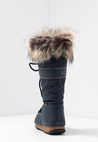 Moon Boot - MONACO WP - Vinterstøvler - denim blue - 5