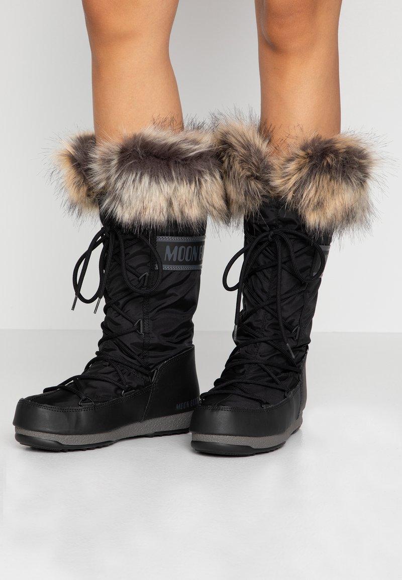 Moon Boot - MONACO WP - Bottes de neige - black