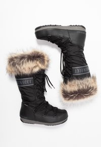 Moon Boot - MONACO WP - Vinterstøvler - black - 3