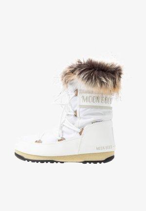MONACO LOW WP - Snowboots  - white