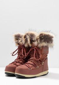 Moon Boot - MONACO LOW WP - Winter boots - rust - 4