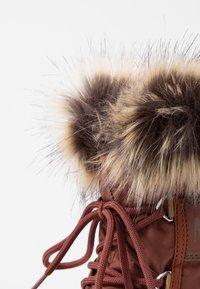 Moon Boot - MONACO LOW WP - Winter boots - rust - 2