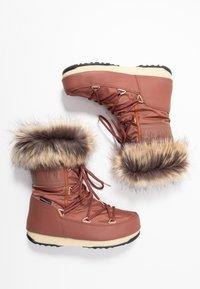 Moon Boot - MONACO LOW WP - Winter boots - rust - 3