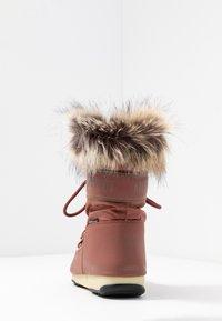 Moon Boot - MONACO LOW WP - Winter boots - rust - 5