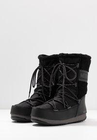 Moon Boot - MONACO MID WP - Vinterstøvler - black - 4