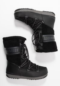 Moon Boot - MONACO MID WP - Vinterstøvler - black - 3