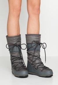 Moon Boot - HIGH WP - Stivali da neve  - castlerock - 0