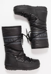 Moon Boot - HIGH WP - Zimní obuv - black - 3