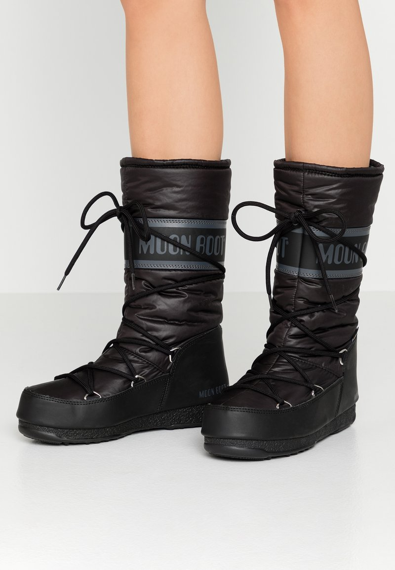 Moon Boot - HIGH WP - Zimní obuv - black