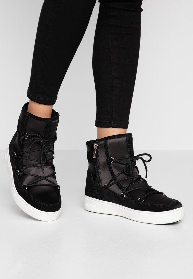 PULSE - Zimní obuv - black