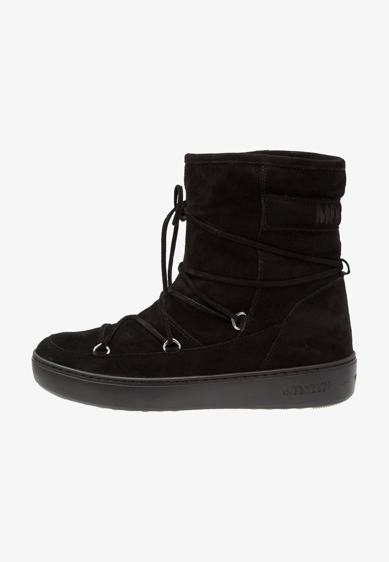 Moon Boot - PULSE MID - Snørestøvletter - black