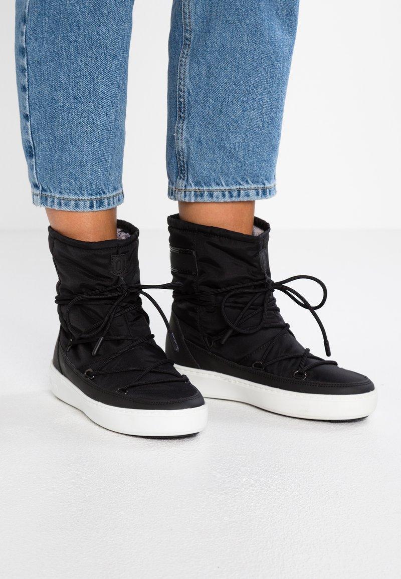 Moon Boot - PULSE PLUS WP - Snørestøvletter - black