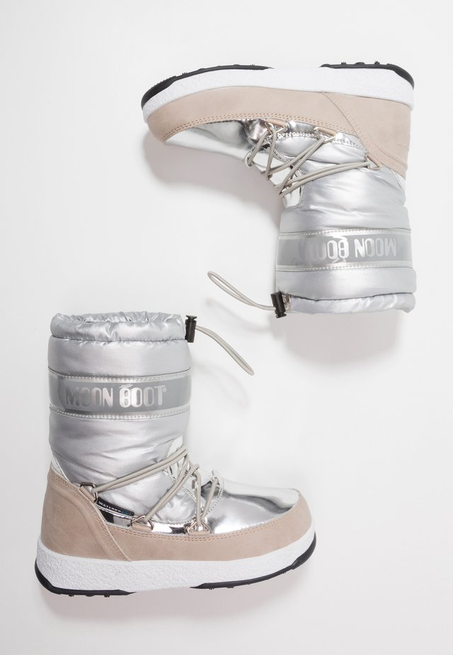 GIRL SOFT WP - Snowboots  - silver