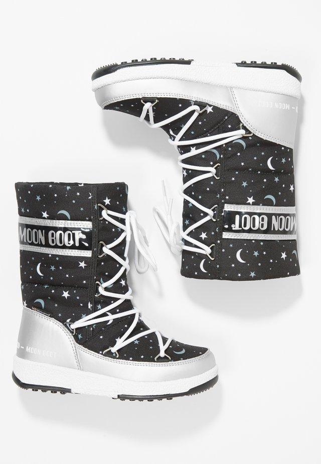 UNIVERSE - Zimní obuv - silver/black