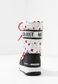 Moon Boot - GIRL LADYBUG WP - Nauhalliset saappaat - black/white/red - 4