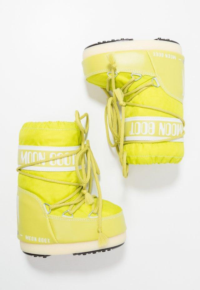 Zimní obuv - lime