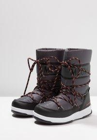 Moon Boot - BOY SPORT WP - Zimní obuv - black/castlerock - 3