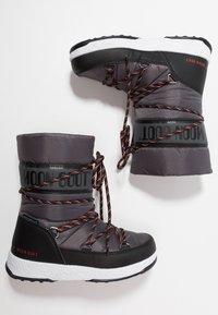 Moon Boot - BOY SPORT WP - Bottes de neige - black/castlerock - 0