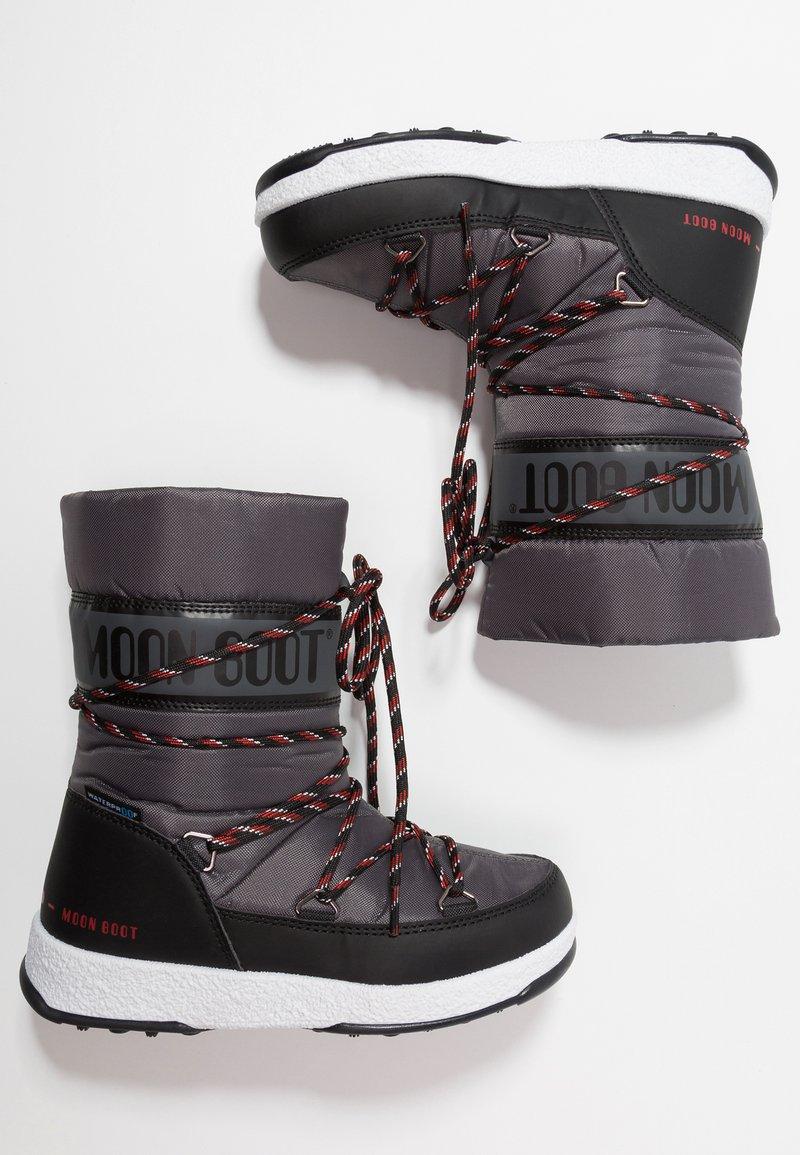 Moon Boot - BOY SPORT WP - Bottes de neige - black/castlerock