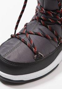 Moon Boot - BOY SPORT WP - Zimní obuv - black/castlerock - 2