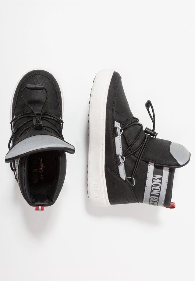 PULSE BOY DETROIT - Šněrovací kotníkové boty - black/silver