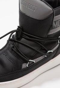Moon Boot - PULSE BOY DETROIT - Stivaletti stringati - black/silver - 2