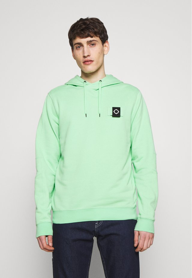 OVERHEAD TRAINING HOODY - Bluza z kapturem - mint