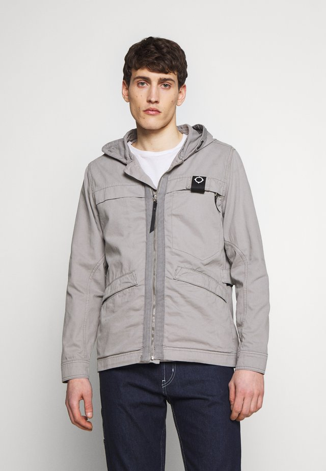 HOODED JACKET - Kurtka wiosenna - quicksilver