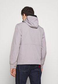 Ma.strum - HOODED JACKET - Impermeable - quicksilver - 2