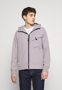 Ma.strum - HOODED JACKET - Impermeable - quicksilver - 0