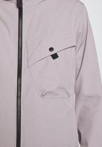 Ma.strum - HOODED JACKET - Impermeable - quicksilver - 5