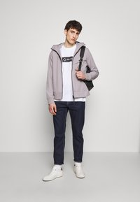 Ma.strum - HOODED JACKET - Impermeable - quicksilver - 1