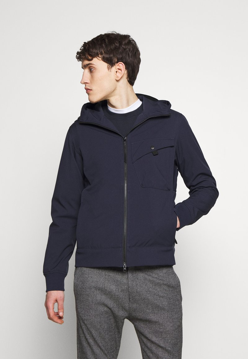 Ma.strum - HOODED JACKET - Vodotěsná bunda - true navy