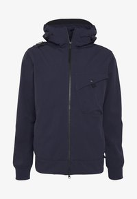 Ma.strum - HOODED JACKET - Vodotěsná bunda - true navy - 4