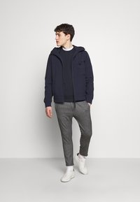 Ma.strum - HOODED JACKET - Vodotěsná bunda - true navy - 1