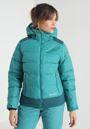 WOMEN SLING SHOT  - Ski jas - patina green/deep teal