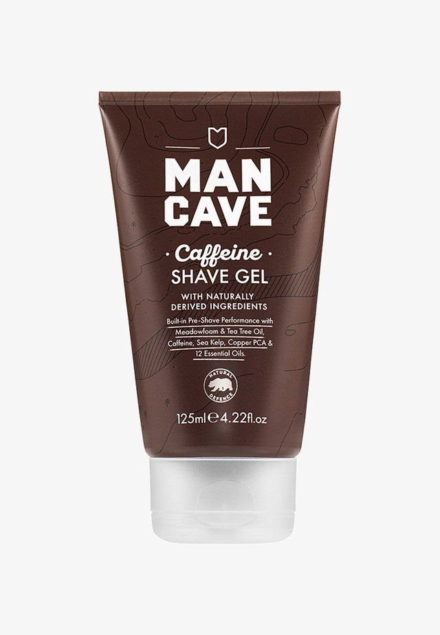 CAFFEINE SHAVE GEL - Rakgel - -